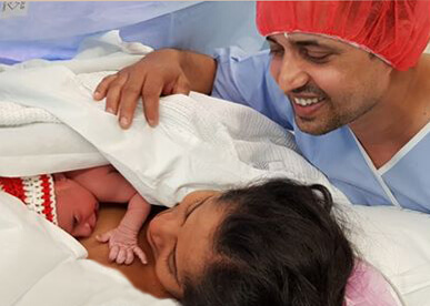 Newborn-baby-Ivaan-and-his-parents