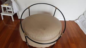 beanbag stand for newborn photography