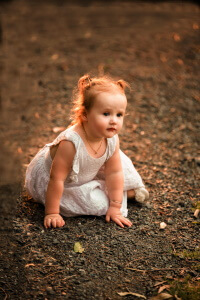 Baby Valentines day family photoshoot