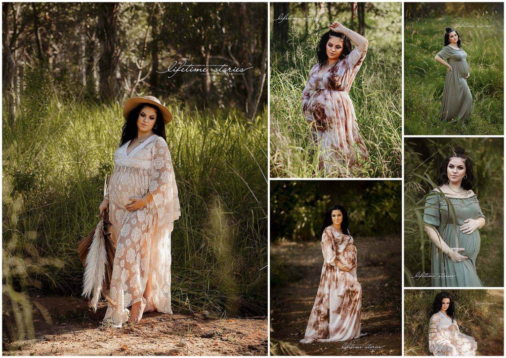 Outdoor maternity session with Lifetime Stories